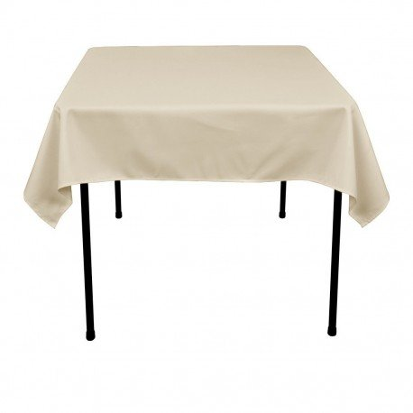 Square Polyester Tablecloth 60 x 60 inches by Florida Tablecloth - Factory Square
