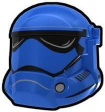 Lego 5 New Blue Minifig Headgear Helmet Standard Pieces