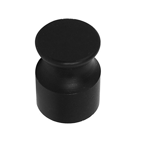 0.75' Knob - uxcell Cabinet Drawer Door 19mmx25mm Cylinder Shaped Pull Handle Knob Black