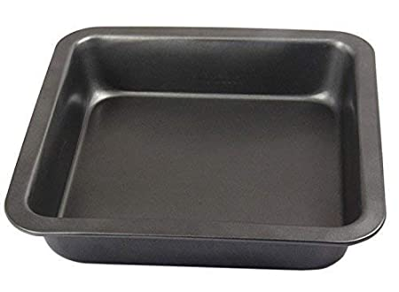 Zollyss Carbon Steel Square Cake Mould - 1 Piece, Black