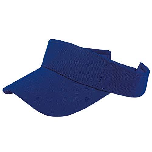 Unisex Adjustable Sun Sports Visor Cap Golf Cap Tennis Visor Hat Lightweight Sunscreen for Cycling Running Outdoors…