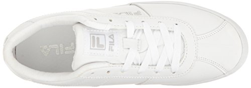 Fila Women's Rosazza Walking Shoe White/White/Metallic Silver geniue stockist sale online reliable online free shipping websites prices for sale sale affordable sY14nd