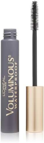 L'Oreal Paris Voluminous Original Waterproof Mascara, Black, 0.28 Ounces