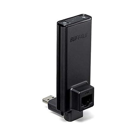 (まとめ)バッファロー AirStation簡単無線LAN子機 300Mbps 11n・a・g・b対応 WLI-UTX-AG300/C 1個【×3セット】 ds-2216437 その他
