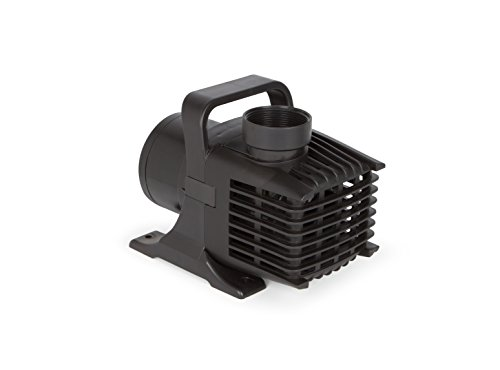 Atlantic Water Gardens TT6000 Energy Efficient Pond & Waterfall Pump, Black