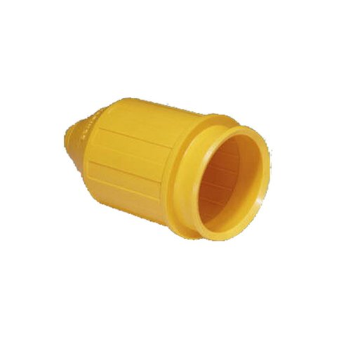rproof Cover for Marinco Marine Electrical 50-Amp Connectors (6361CRN and 6365CRN, Male Connectors, Yellow) (Marinco Marine Connector)
