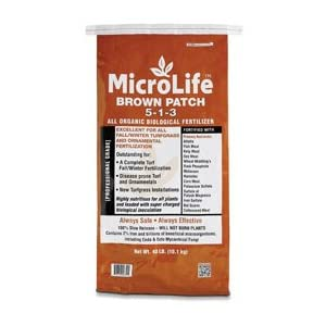 MicroLife Brown Patch 5-1-3 40 lb. Bag