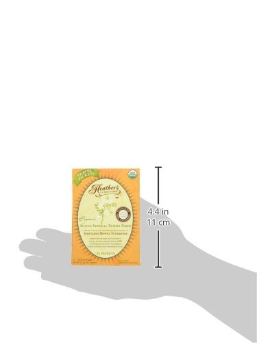 Heather's Tummy Fiber Organic Acacia Senegal Travel Packets for IBS, 75 Count by Heather's Tummy Care (Image #5)