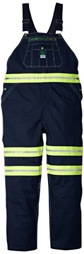 - Walls Men's Liberty Hi-Vis Bib Overall, HI-VIS Yellow, 48/30