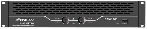 Pyle-Pro PQA3100 19-Inch Rack Mount 3100-Watt Professional Power Amplifier (Professional Power Amplifier Rackmount)