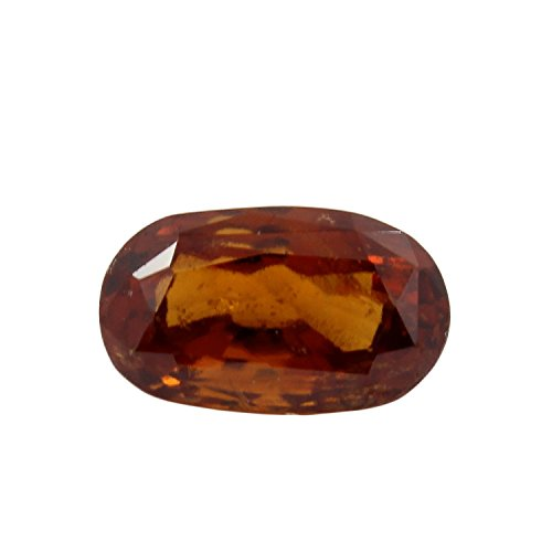 Be You 4.5cts Orange Couleur Facettes Ovale Forme Naturel Odisha Hessonite
