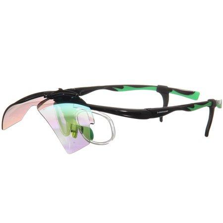[ダンロップ] 無料度付きサングラス はね上げタイプ (交換レンズ 計3枚付き) ブラック DU-019   B00UNSNLVE