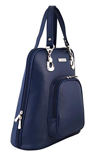 Flying Berry Womens Stylish Backpack Handbag (BLUE)