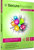 Software : SecureAnywhere - Essentials 2012 - 3 users