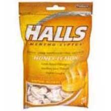 Halls Base Cough Suppressant / Oral Anesthetic Drops Advanced Vapor Action Honey - Lemon, 9 Count (Pack of - Honey Action Vapor