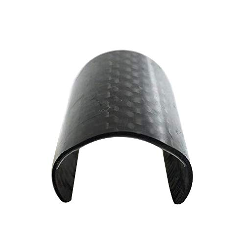 Aceoffix Rear Frame Carbon Protector for Brompton,Guard Back Fork Carbon Protective Patch Gasket Bike Accessories Fiber Fork Sheet