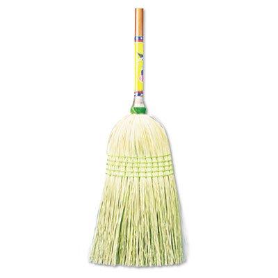 UNISAN Parlor Broom, Corn Fiber Bristles, 42 Inch Wood Handle, Natural (926C) by Unisan