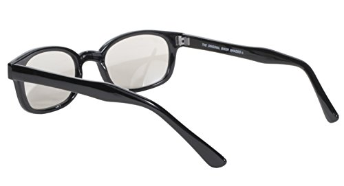 Marco de Espejo KD's sol lente Plata auténticas ahumado clara gafas 2010 bikers Negro aTFTxSq