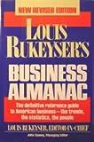 Louis Rukeyser's Business Almanac, Louis Rukeyser, John Cooney, 0671707280