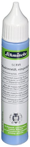 (Schmincke Masking Fluid 25ml Blue Dispensing Bottle (50731005))