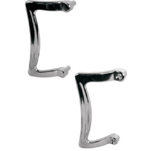 """low-cost CRL 3-1/2"""" Chrome Outside Shower Door Pull Handle"""