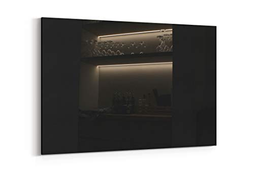 Bar Glasses Light and Interior Design in Treviso Italy - Canvas Wall Art Gallery Wrapped 12