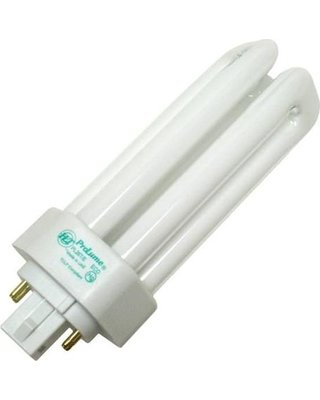 (Pack of 10) Halco 109022 - PL26T/E/35/ECO 26W 3500K GX24Q-3 Pro Eco Triple Tube 4 Pin Base Compact Fluorescent Light Bulb by Halco (Image #1)