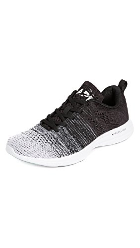 best website ab7ff 910f7 Apl  Atletisk Framdrivnings Labs Mens Techloom Pro Kör Sneakers Vit    Gråmelerad   Svart