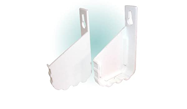 Kv Plastic Tip Out Trays Without Stop 24-1//4 Standard White