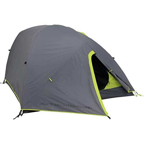 ALPS Mountaineering Greycliff 2 Tent: 2-Person 3-Season (Grey/Lime Green)