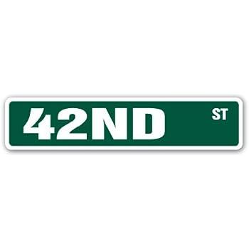 Amazon.com: 42ND Street Sign New York borough Manhattan ...