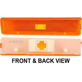 80 Series Light (FORD F-SERIES PICKUP 80-86 FRONT SIDE MARKER LAMP LH, Lens & Housing, On Fender)
