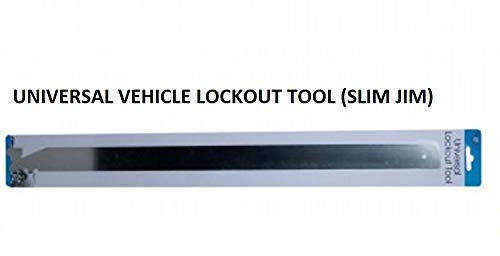 Kole Universal Vehicle Lock Out Tool, Auto Slim Jim, Door Unlock Tool