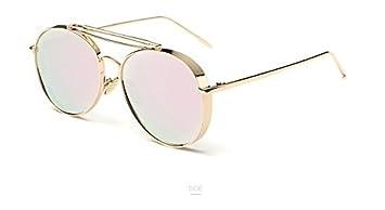 Aprigy - Gafas de Sol con Espejo Rosa para Mujer, UV400 ...