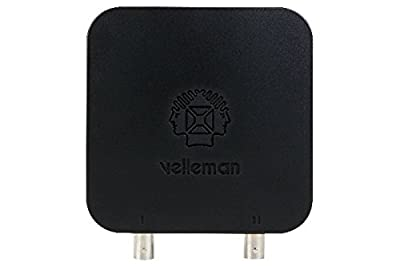 Velleman WFS210 2-Channel Wi-Fi Digital Storage Oscilloscope