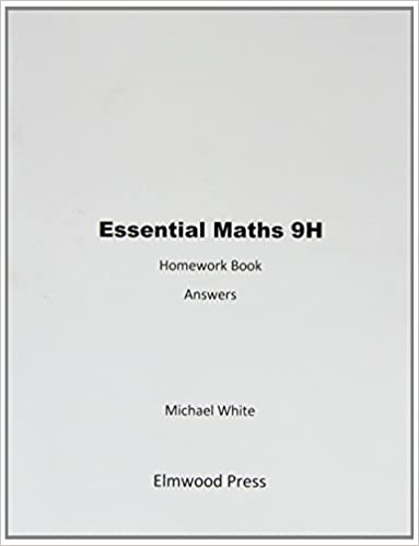 essential maths 9h homework book