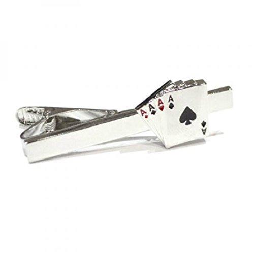Mens Four Aces Tie Clip (Ace Tie)