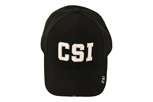 CSI Crime Scene Investigation Logo Adult Strapback Hat]()