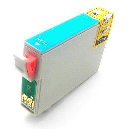 Epson R1900 Photo Printer (Epson UltraChrome Hi-Gloss 87 Inkjet Cartridge Cyan T087220)