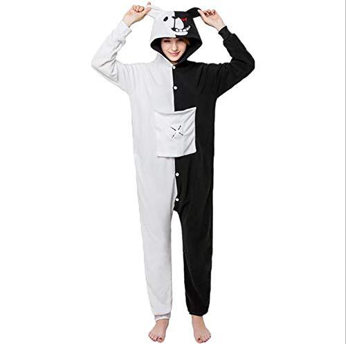Cosplay Biancheria S Animale Bianco Pigiama Da Onesies Notte Cartone Kigurumi Jumpsuit Costumi Orso Adulto Animato SHANGXIAN Nero 4SOzaz