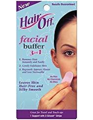 (HairOff Facial Buffer 3 Each)