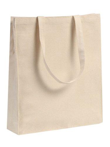 a424531bde7 Heavyweight Natural Cotton Bags, Cotton Shopping Bags, Plain 36cm ...