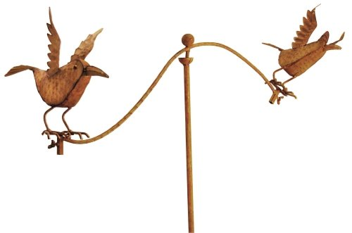 Red Carpet Studios Balancing Buddies Yard Art, 42-Inch Tall, Flying Birds