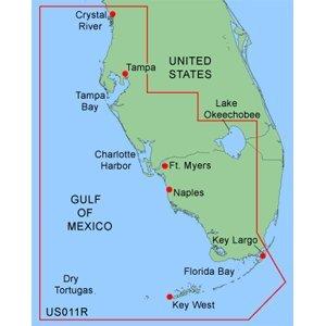 Data Bluechart Card (Garmin Bluechart MUS011R - Southwest Florida Data Card)