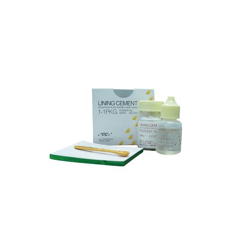 GC America 000109 Lining Cement Package, Includes 1 Powder, 1 Liquid, 1 Scoop and 1 Mixing Pad