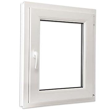 Schüco Fenêtres En Pvc Verre Climalit Oscillo Battant Blanc E