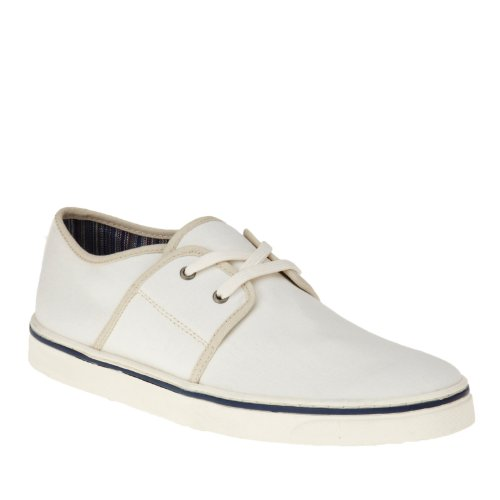 Canvas Sneaker Mens Shoes White Orthaheel Vionic Bryson Awg1xSqgt