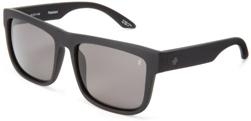 Spy Optic Discord Polarized Flat Sunglasses, Matte Black, 57 - Spy Discord