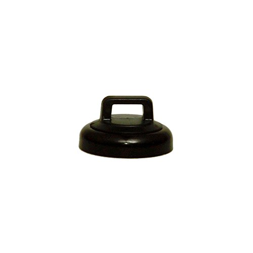 GadKo Small Black Magnetic Zip Tie Mount, 10 lbs pull strength, 10 pieces/bag by GadKo