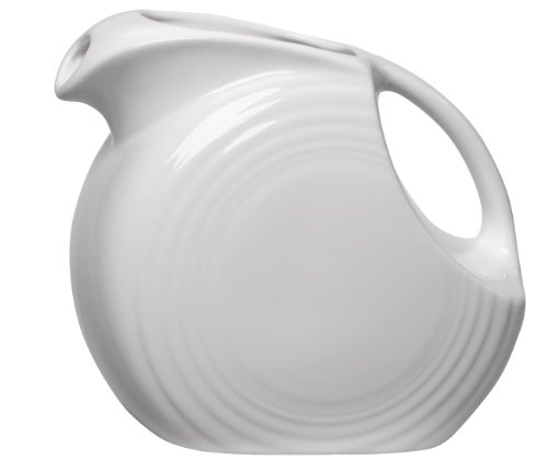 Fiesta 67-1/4-Ounce Large Disk Pitcher, (Fiesta China Carafe)